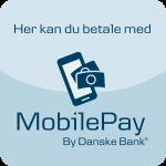 Du kan betale med mobilepay i Vemmetofte Præstegård