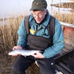 Eckhard Liebich er vores lokale fiskeguide